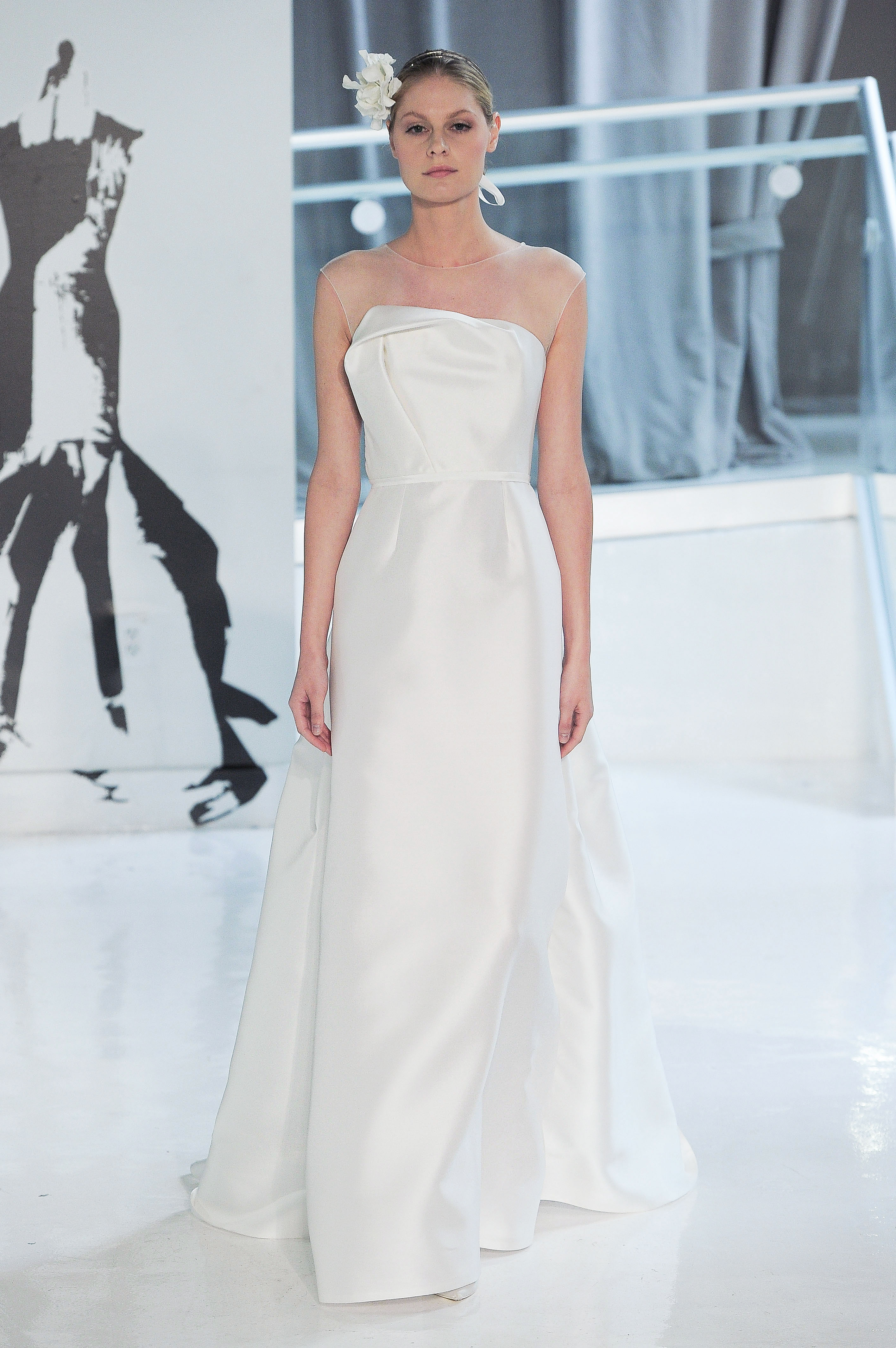 illusion peter langner wedding dress spring 2018