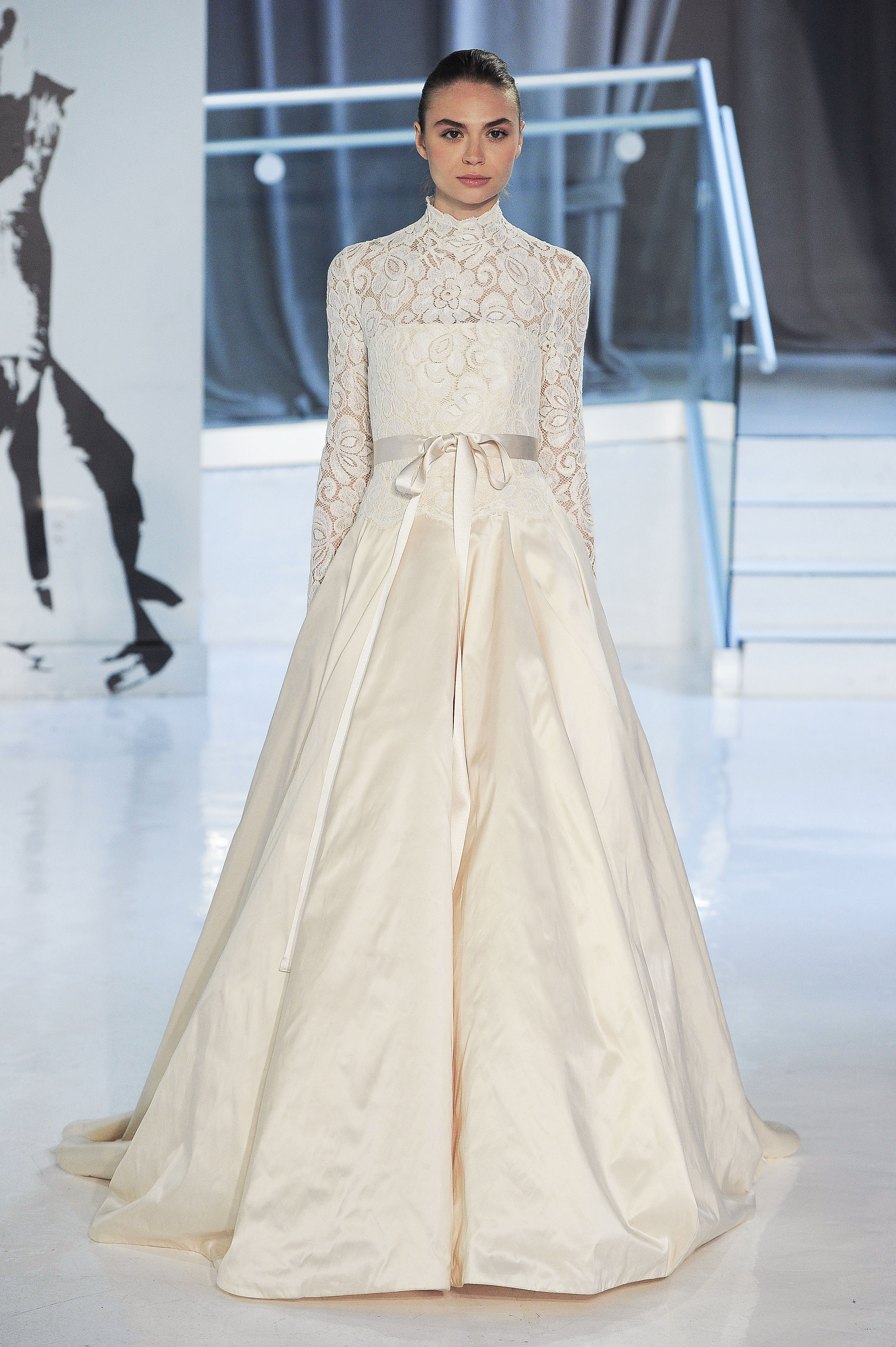 a-line peter langner wedding dress spring 2018