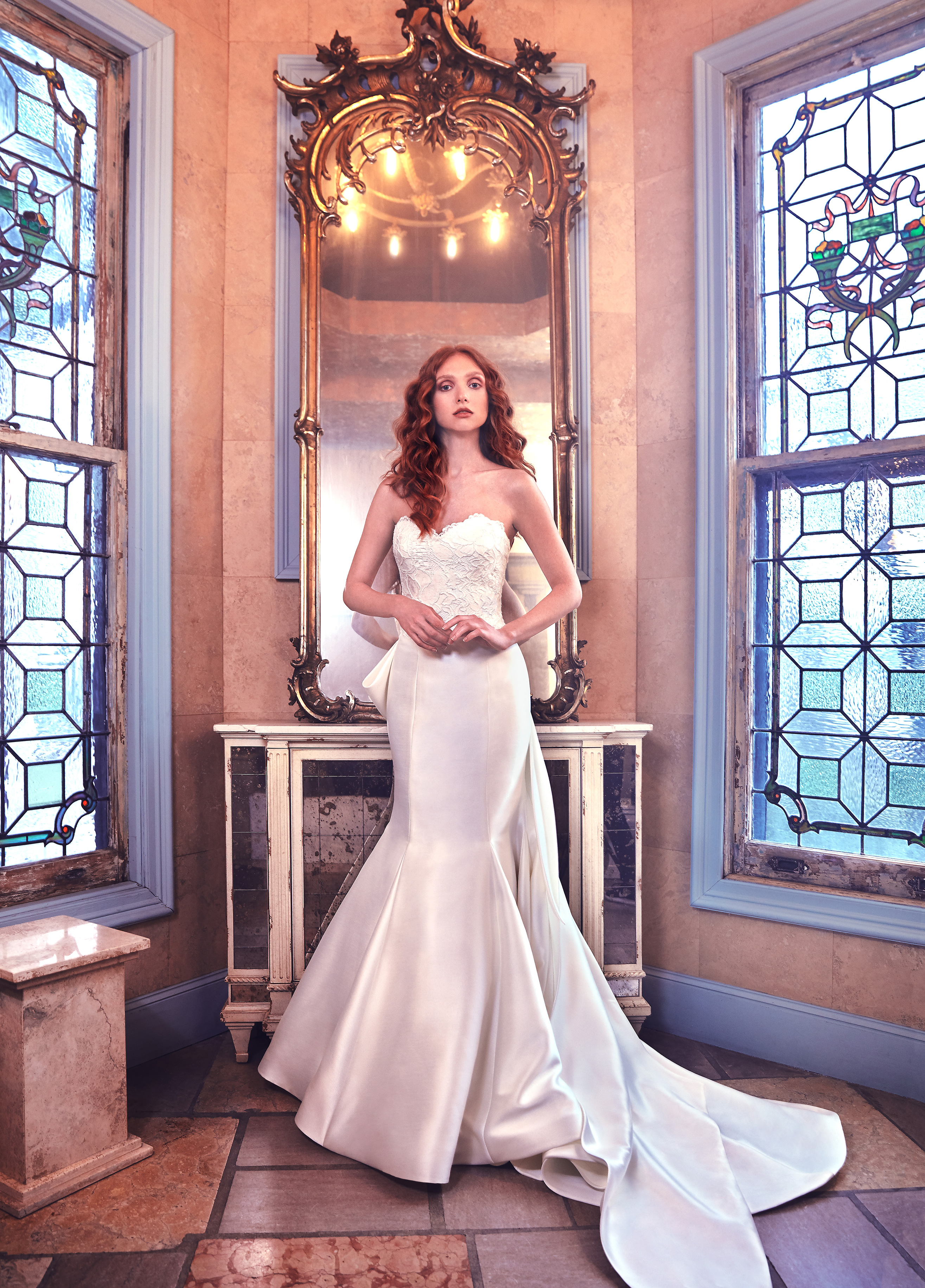 Sareh Nouri Mermaid Wedding Dress with Sweetheart Neckline Spring 2018