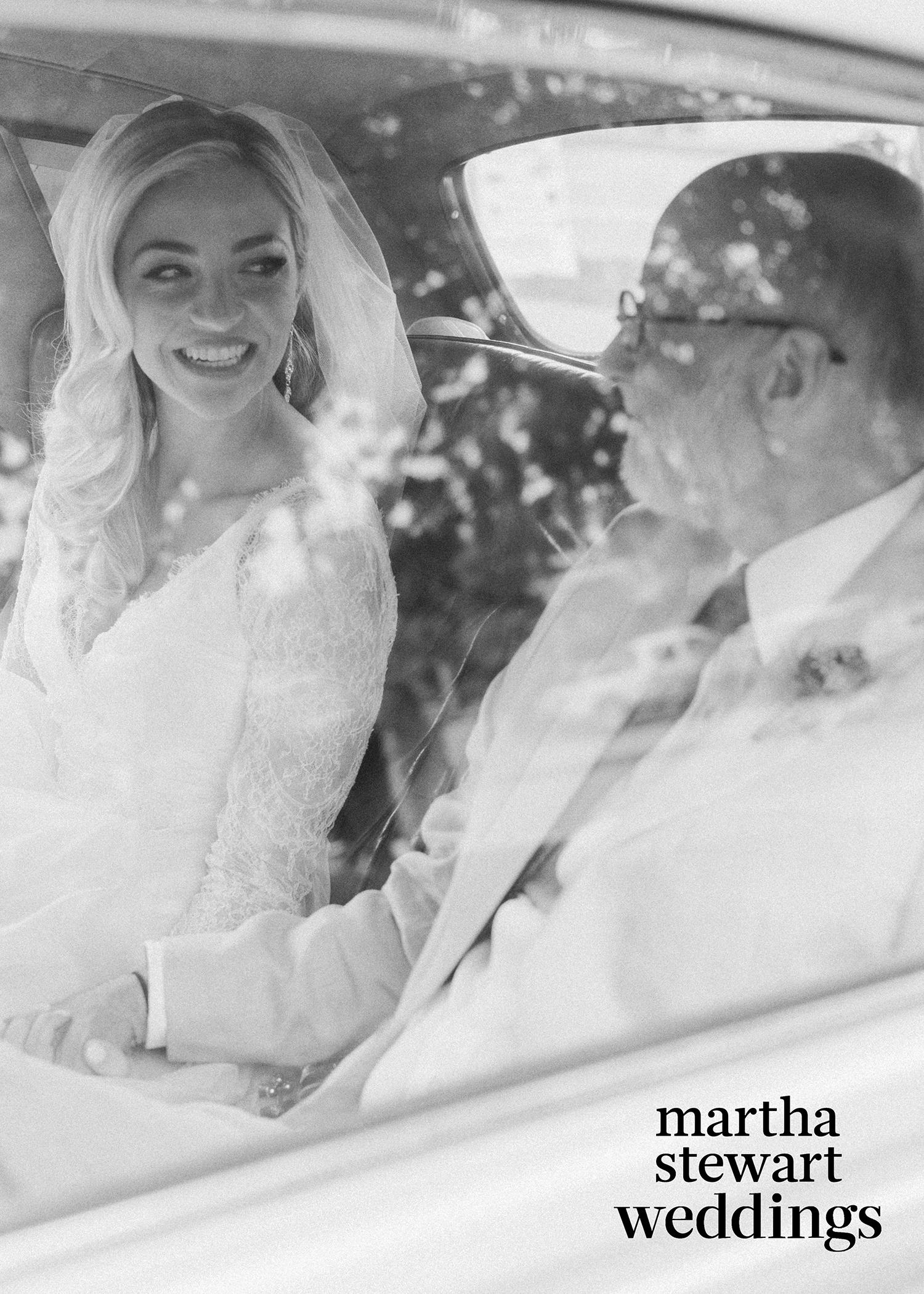 abby elliott bill kennedy wedding father car