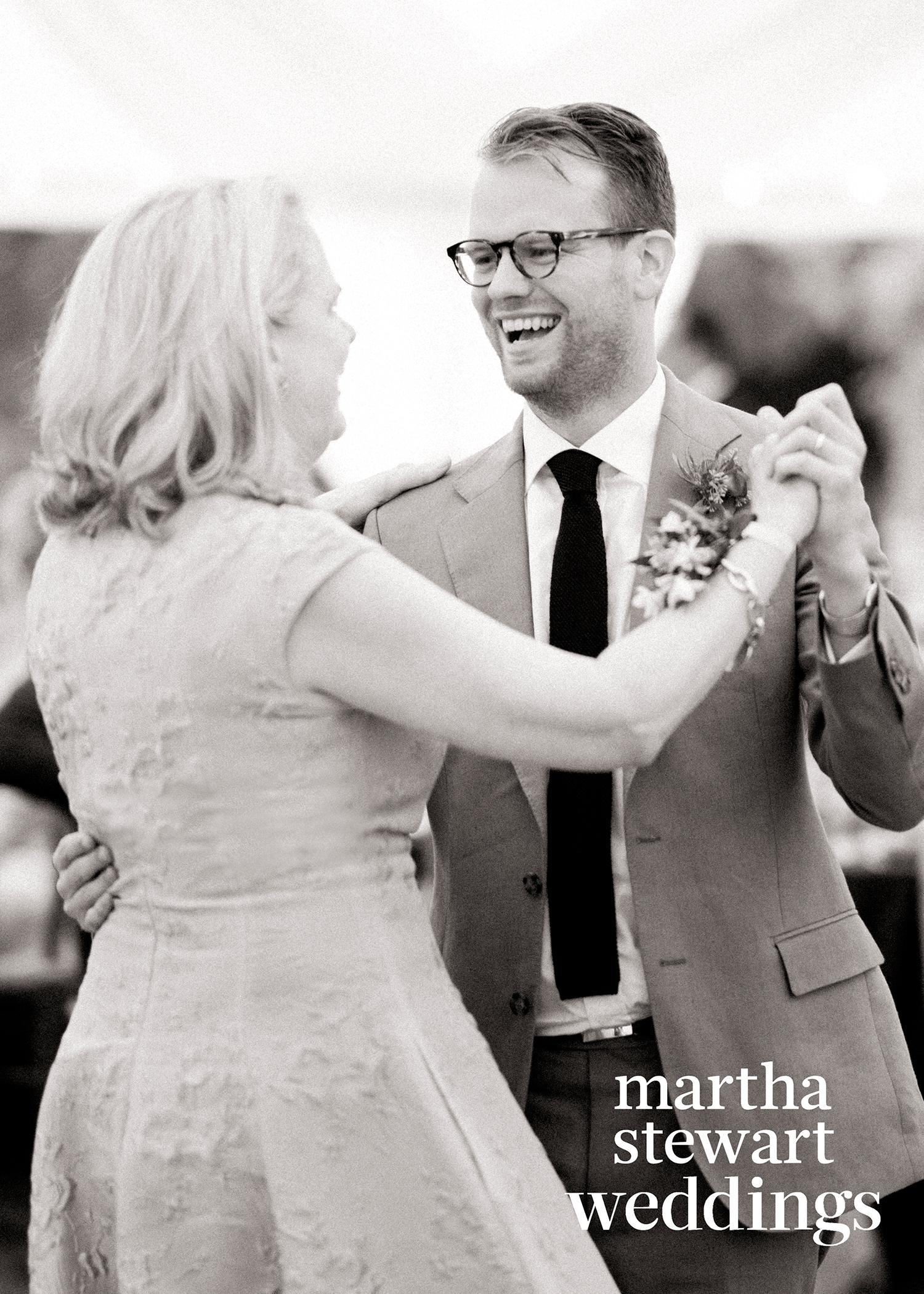 abby elliott bill kennedy wedding mother-son dance