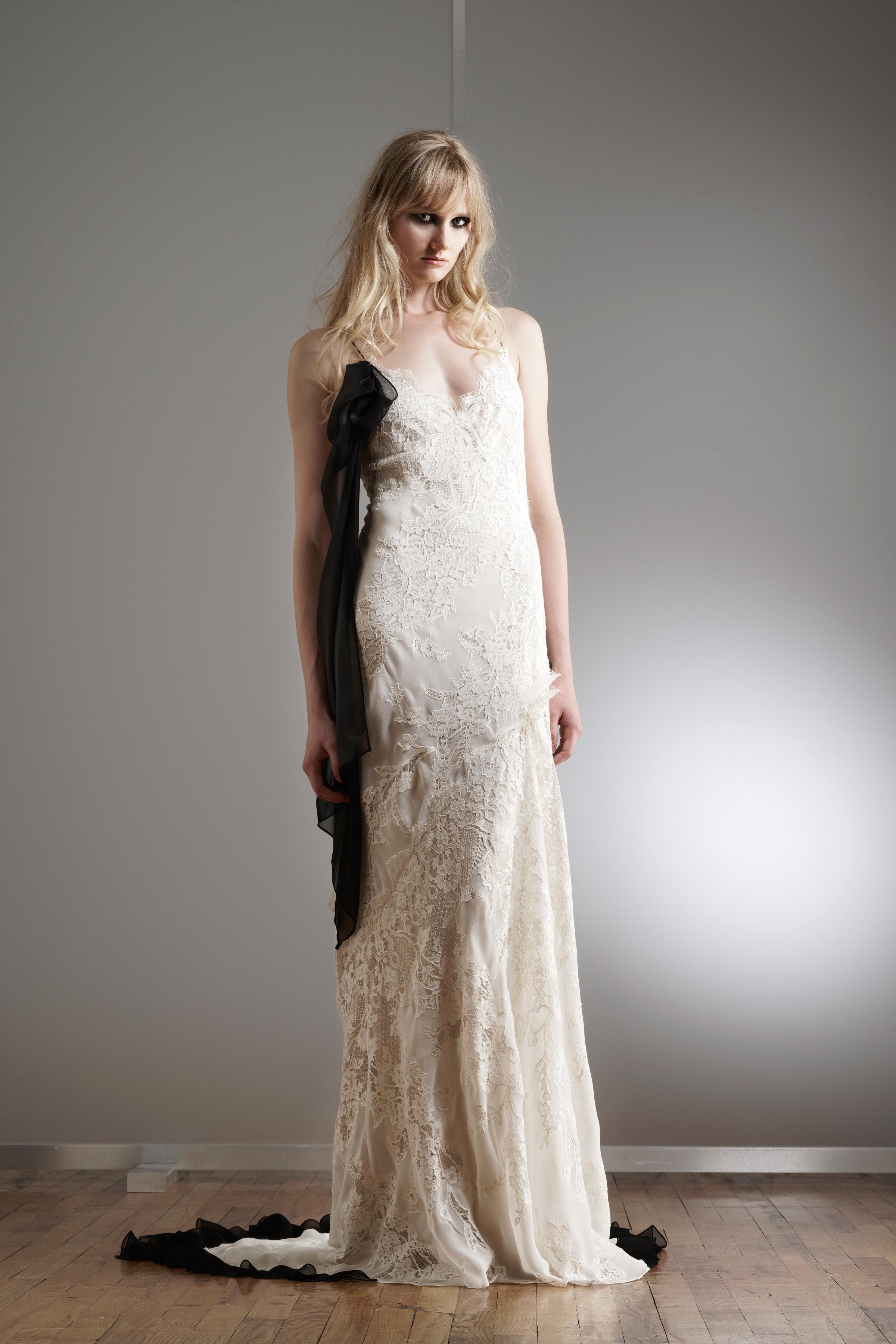elizabeth fillmore spaghetti strap lace wedding dress spring 2018