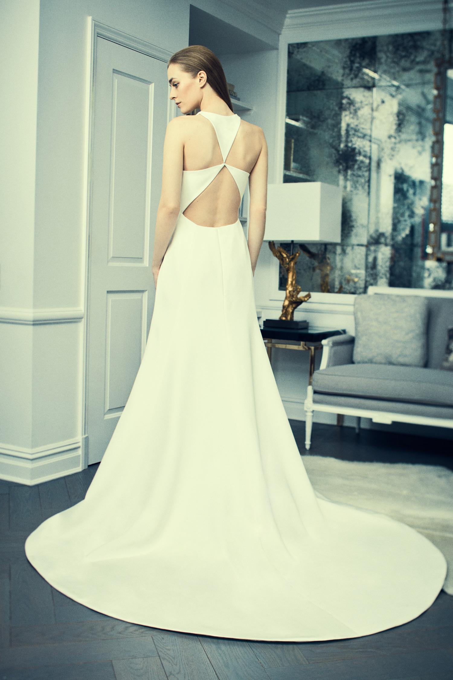 romona keveza collection wedding dress spring 2018 unique back