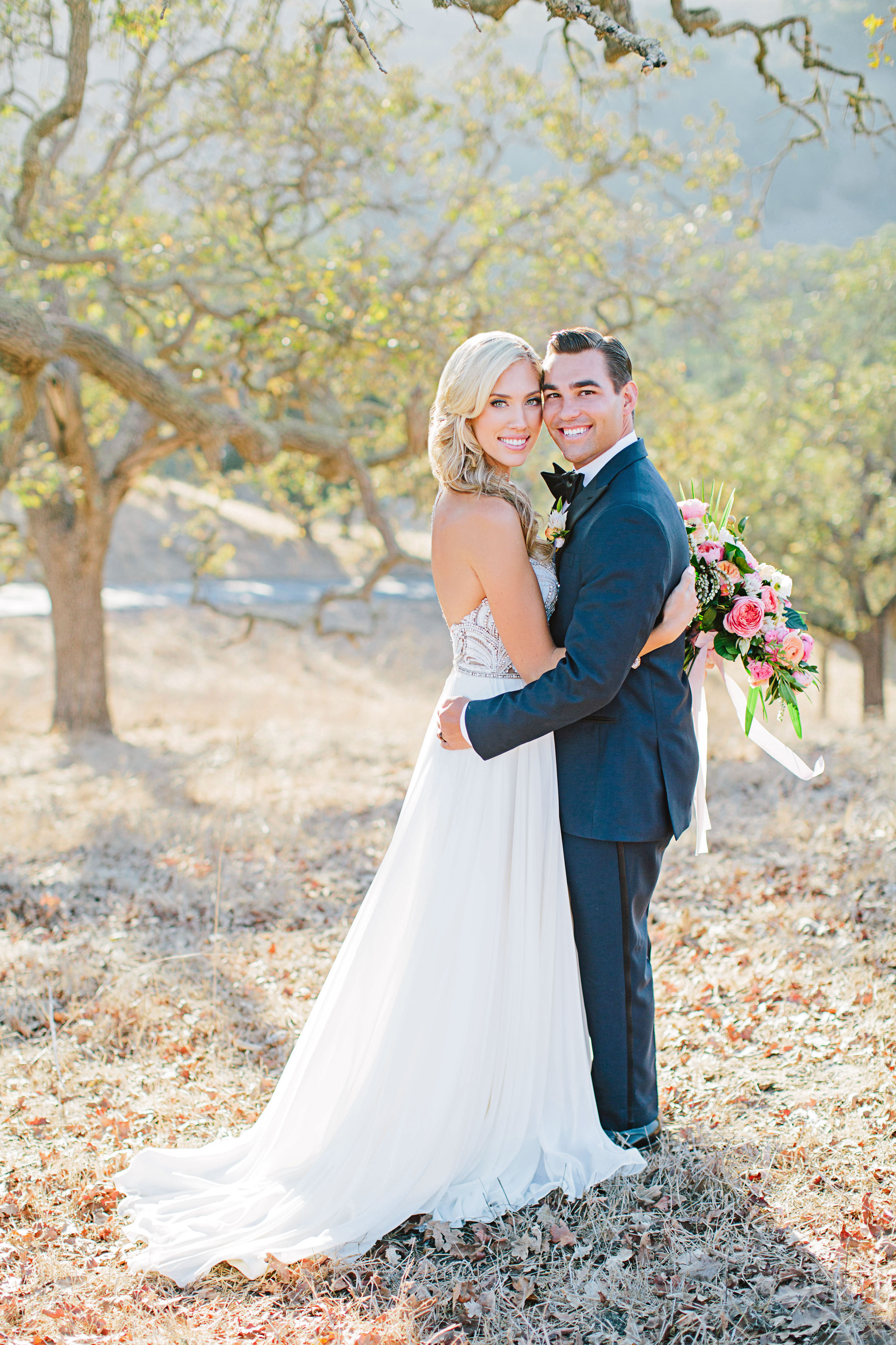stephanie jared wedding couple