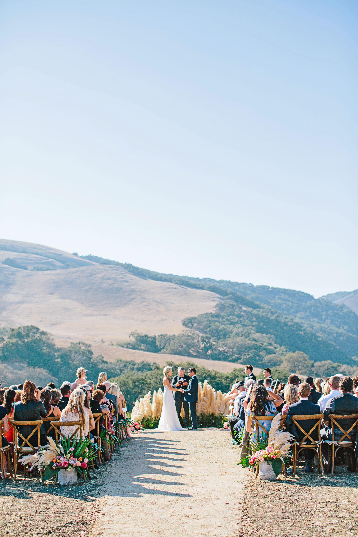 stephanie jared wedding ceremony wide