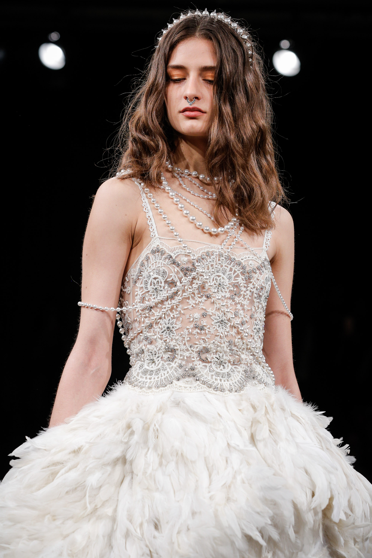 Naeem Khan Bridal Fashion Week Spring 2018 Beauty Look