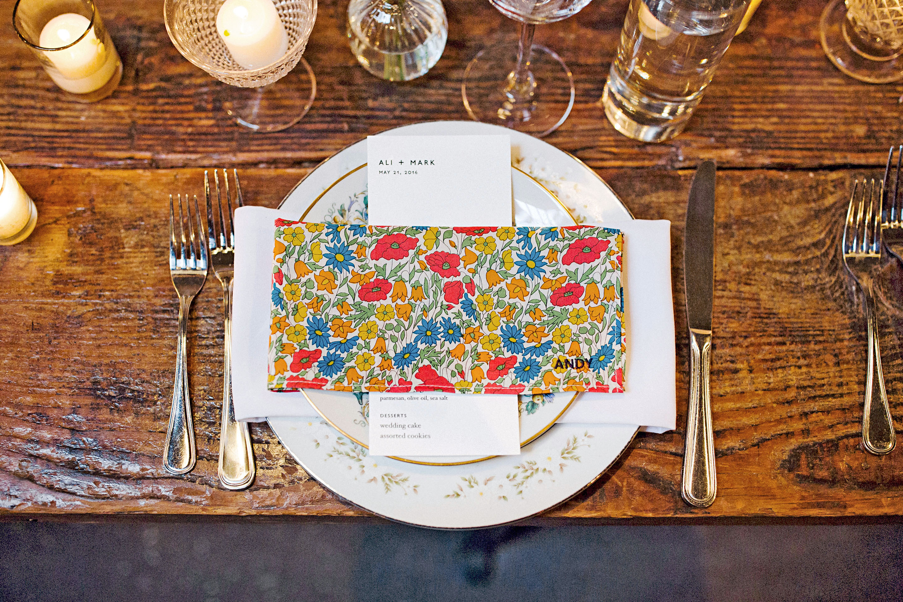 Vibrant Place Settings