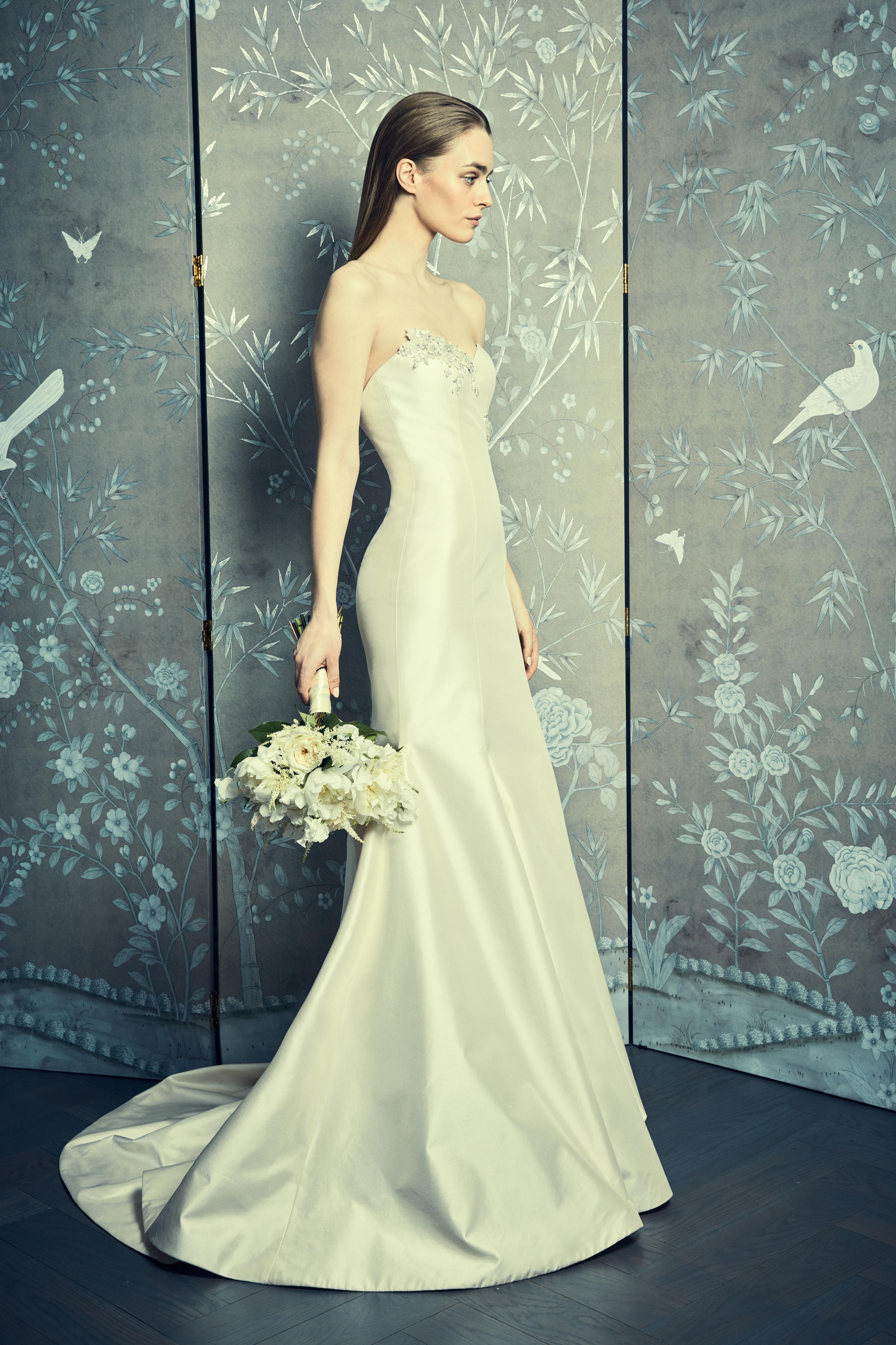 sweetheart trumpet romona keveza legends wedding dress spring2018