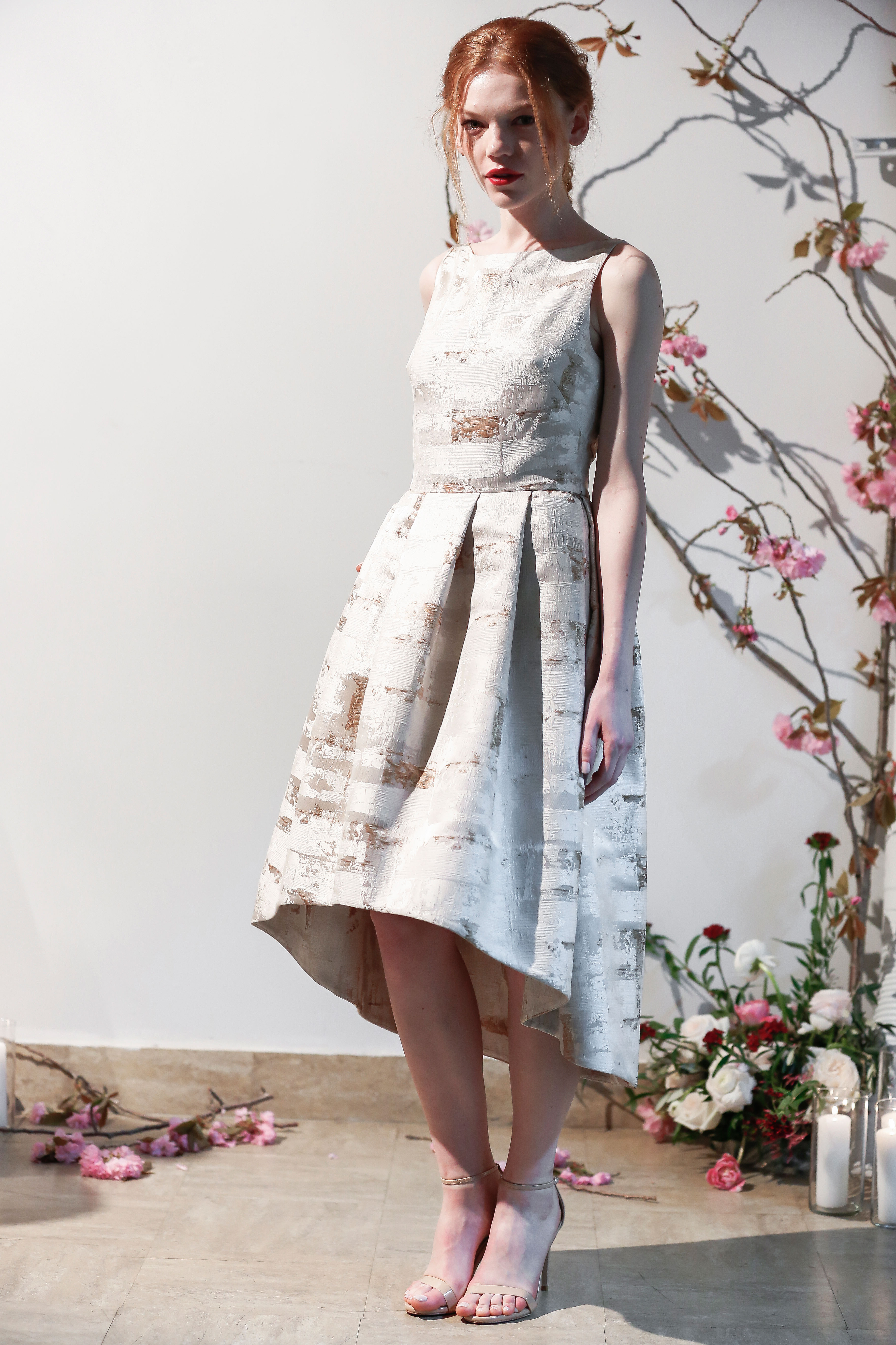 Mason Hosker short dress wedding dress spring 2018