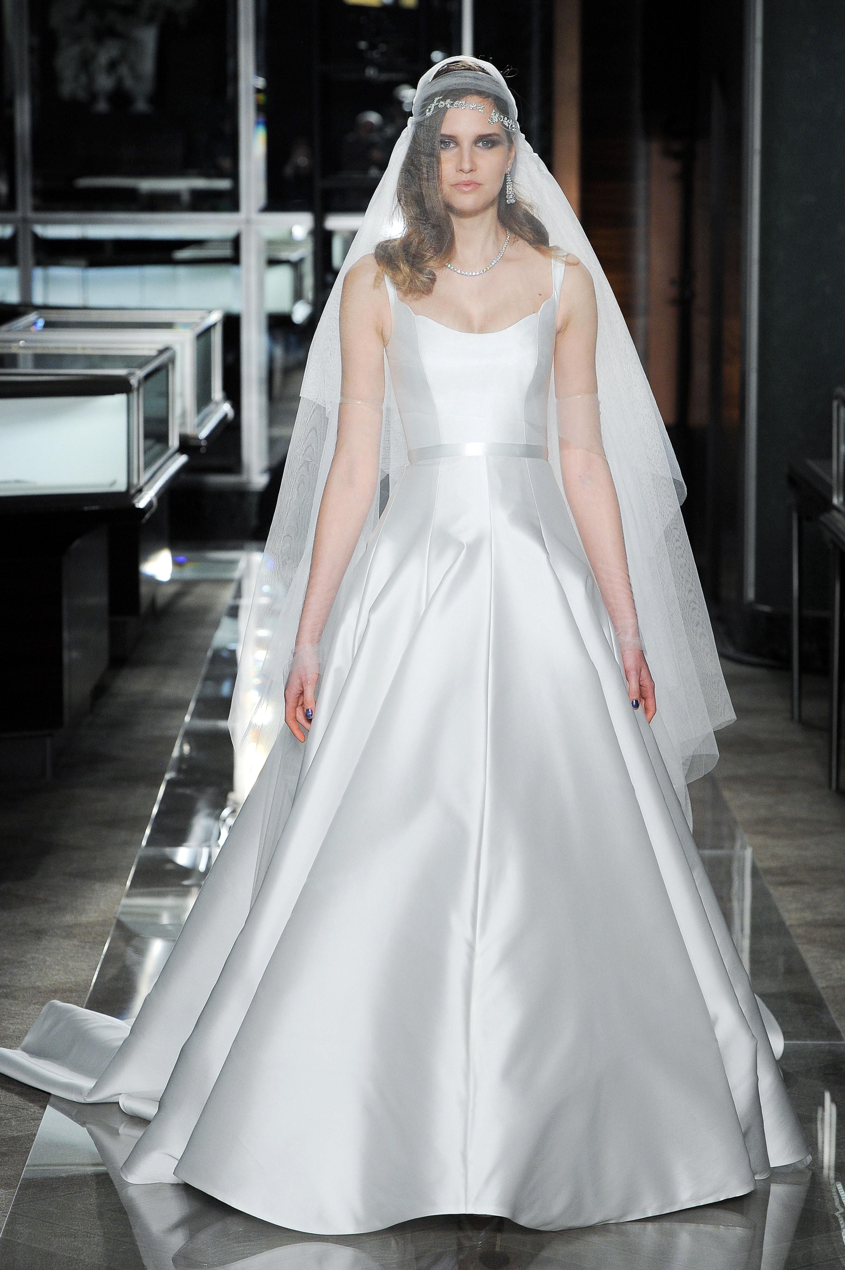 reem acra spring 2018 a-line wedding dress