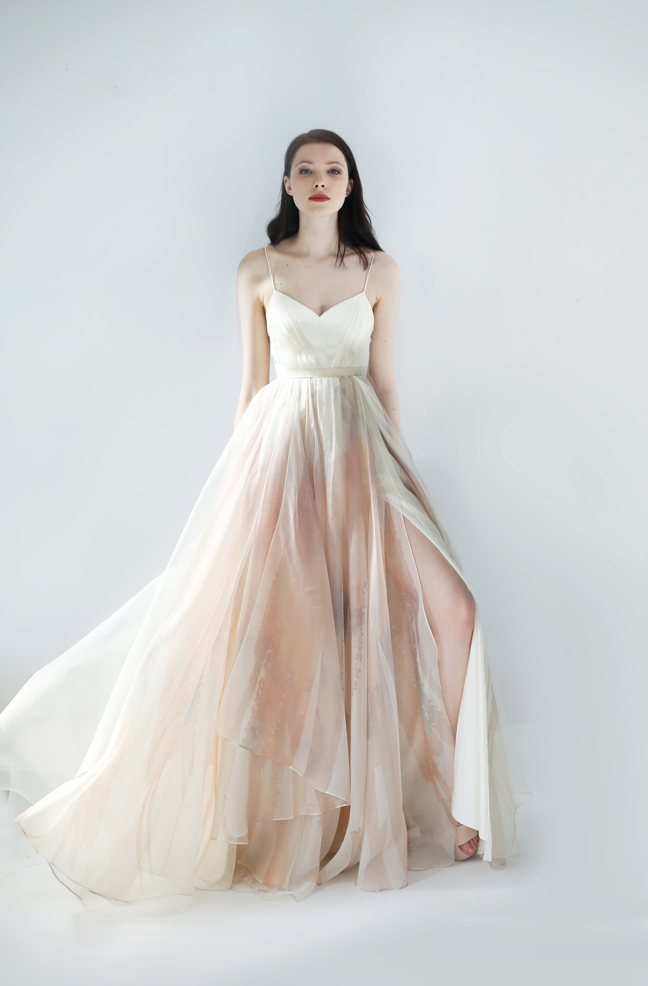 spaghetti ball gown leanne marshall wedding dress spring2018