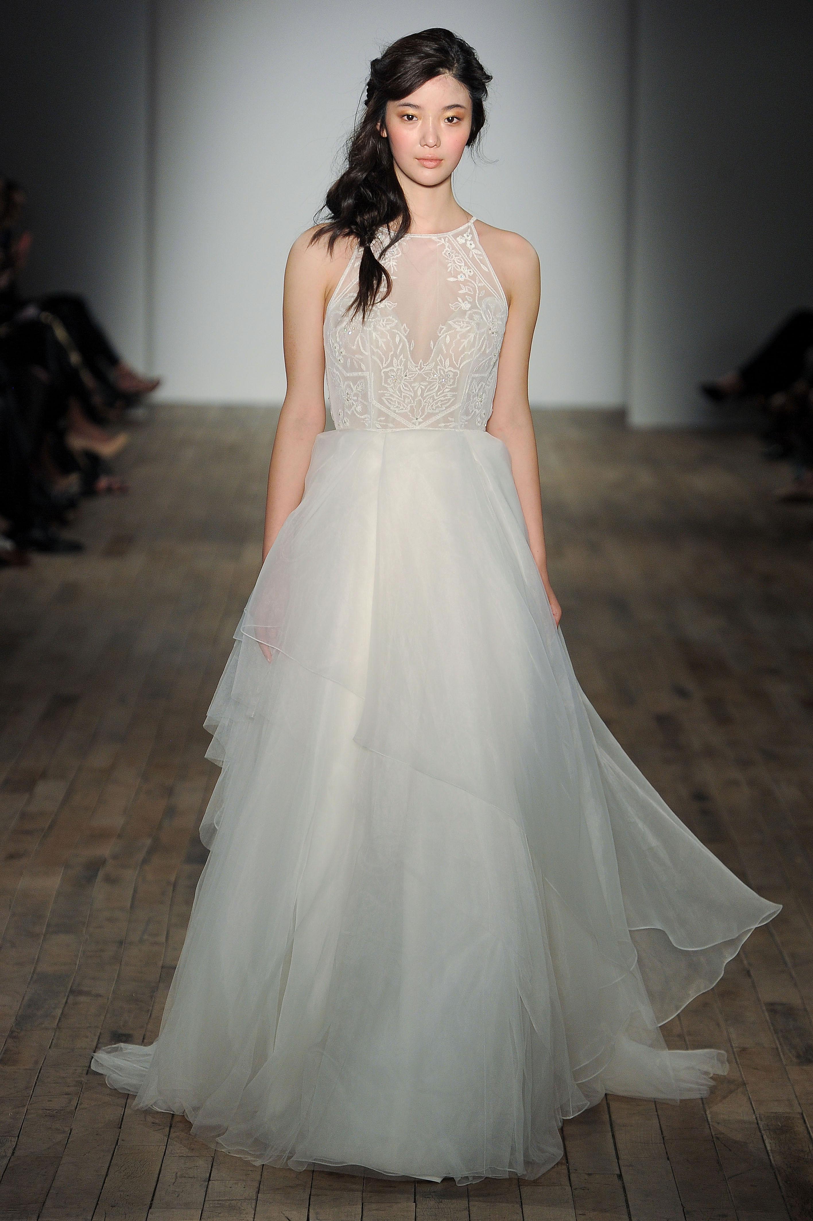 blush by hayley paige a-line wedding dress spring 2018