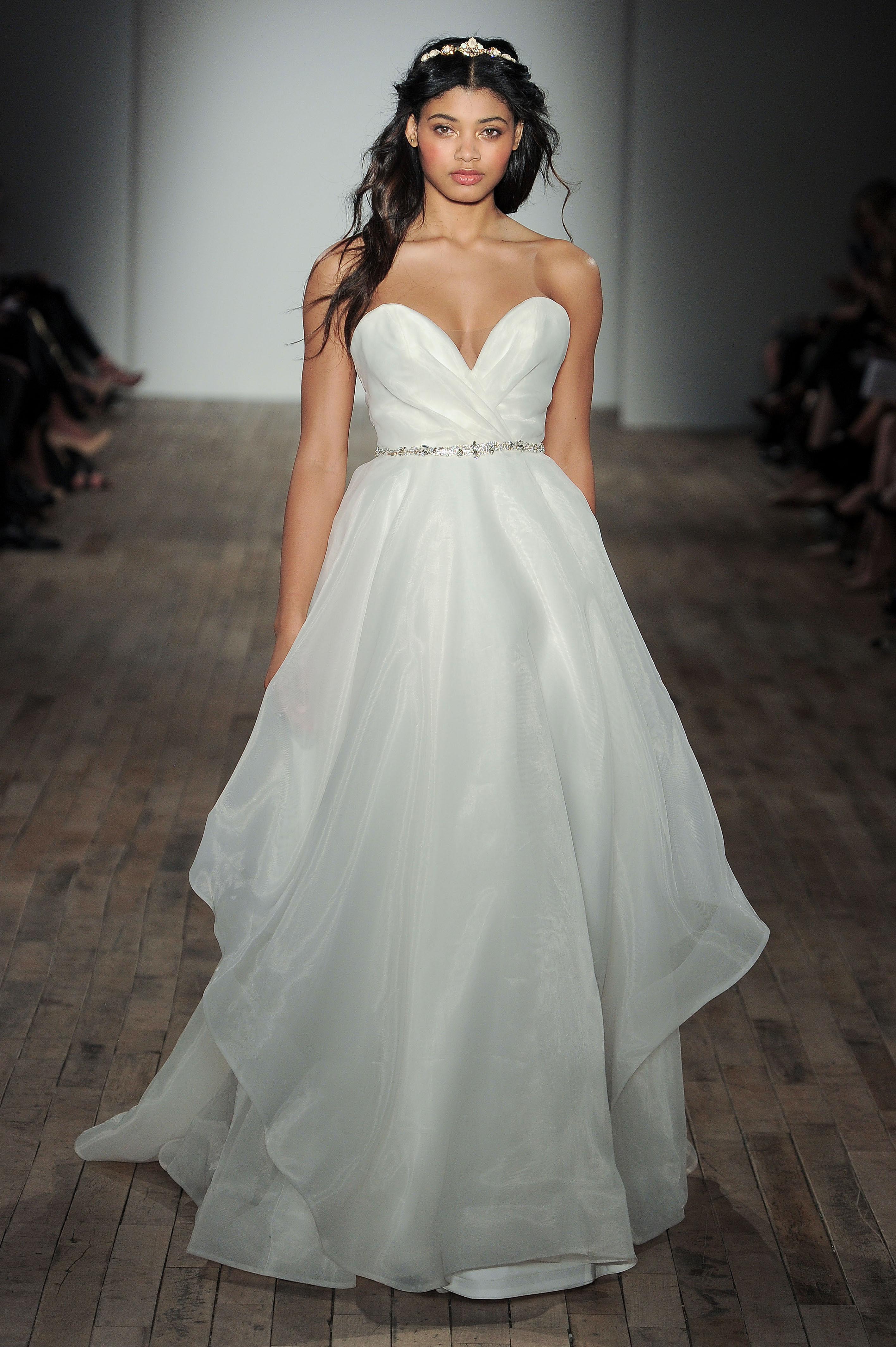 blush by hayley paige sweetheart belt wedding dress spring 2018
