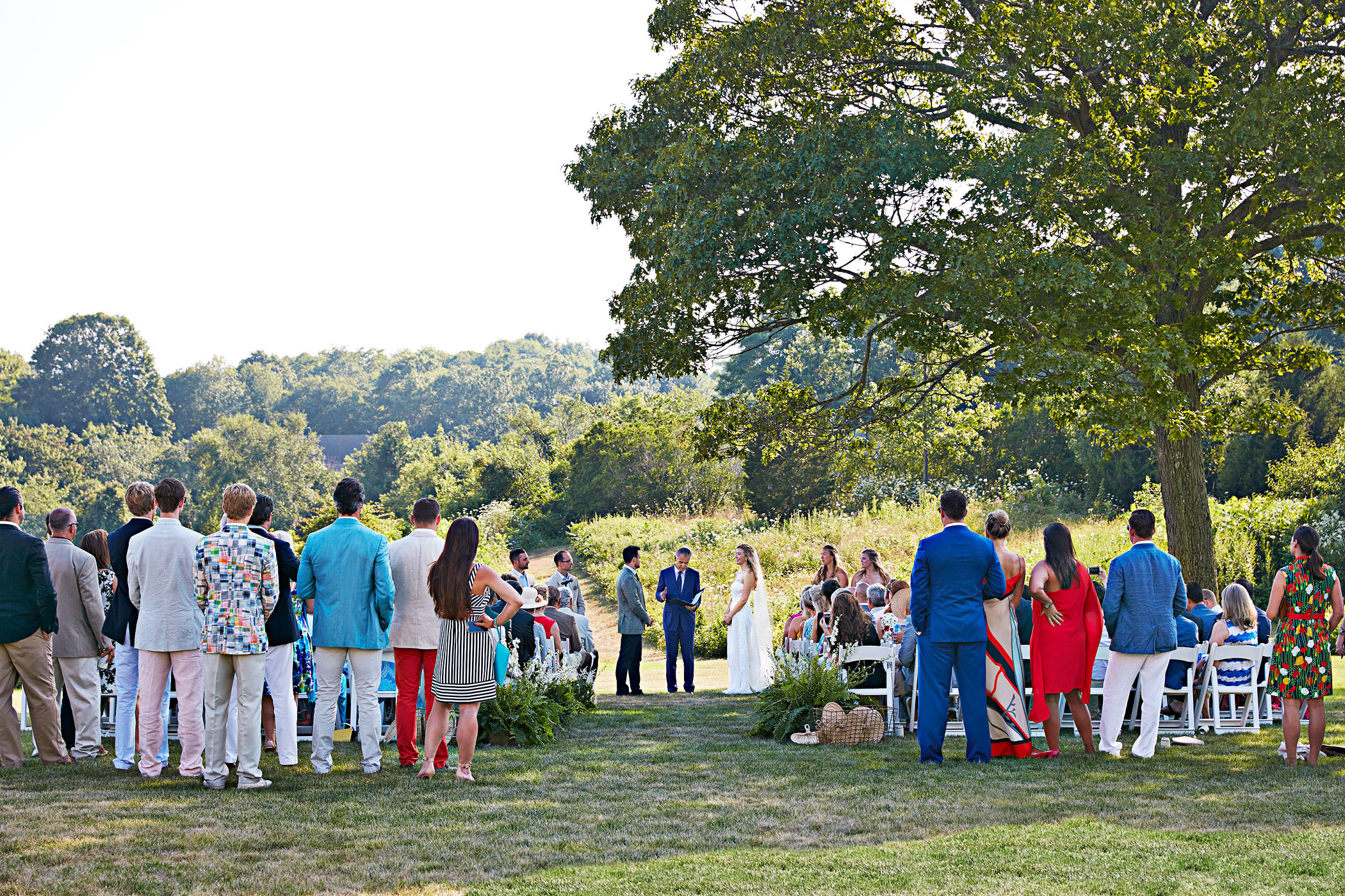 wedding ceremony outdoors