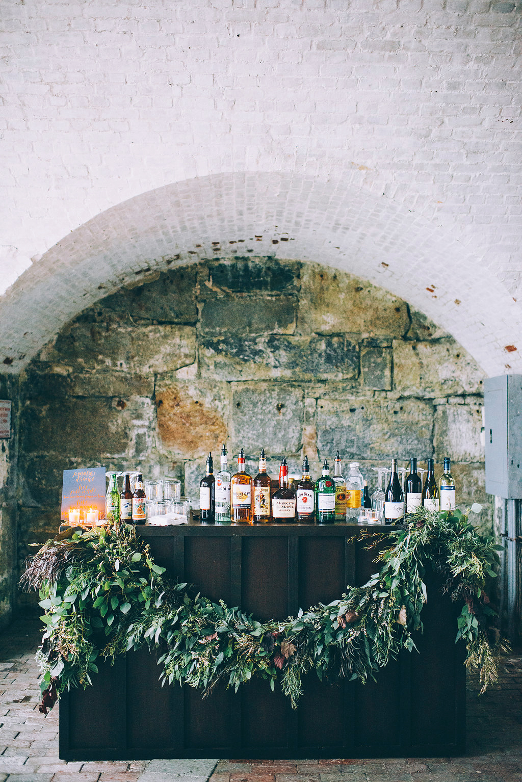 wedding bar stone