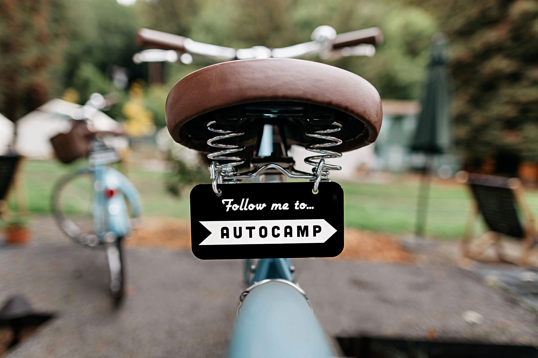 bike seat autocamp
