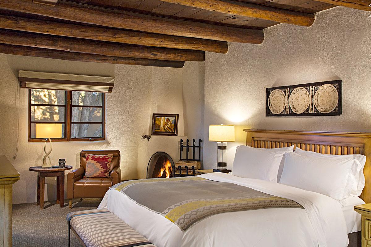 sante fe spa hotel room