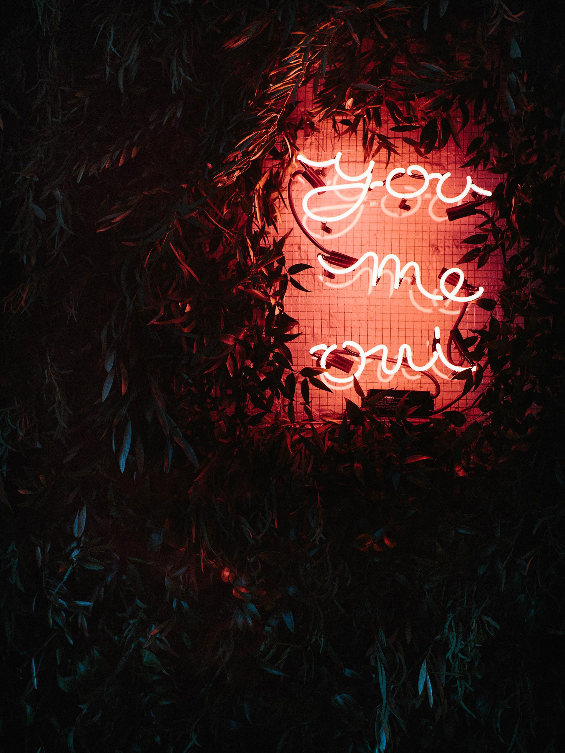 joanna jay wedding backdrop neon