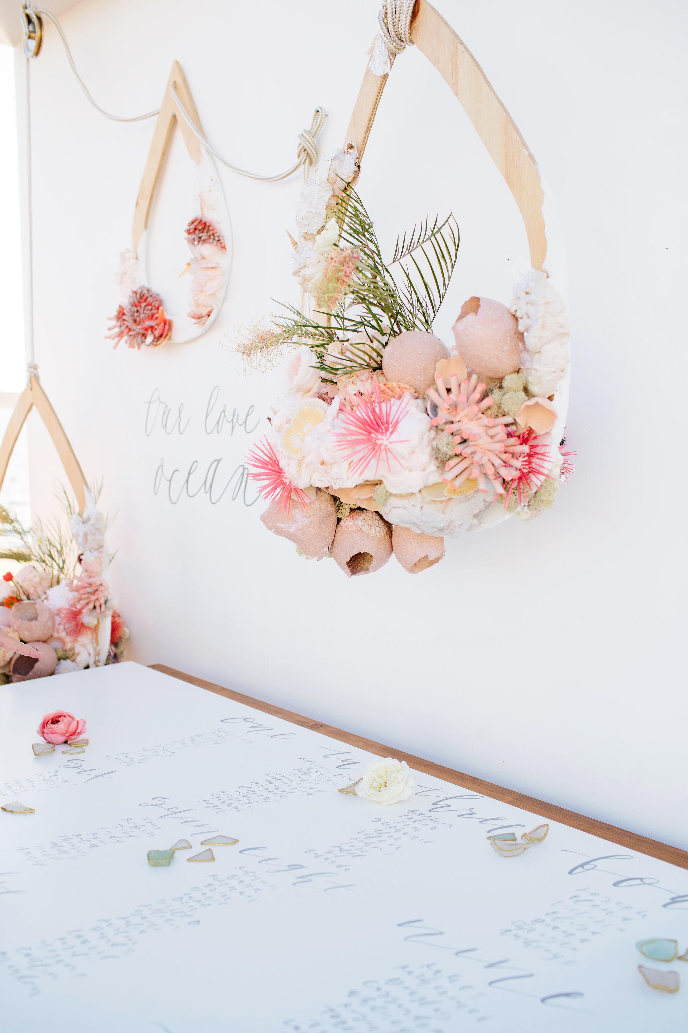 julie anthony real wedding decor