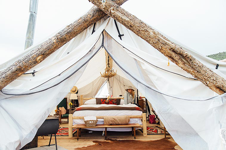 vail collective retreat tent