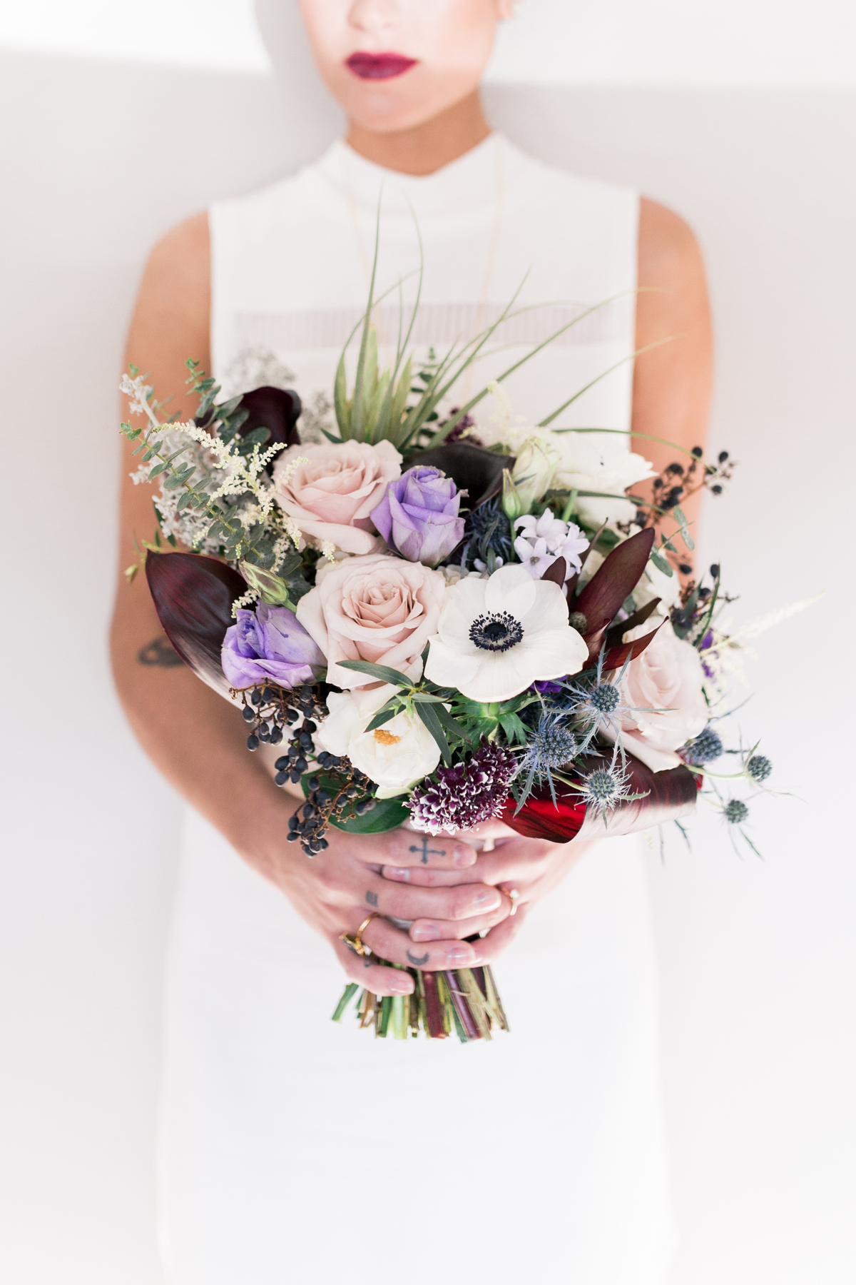 anemone bouquets twin lens