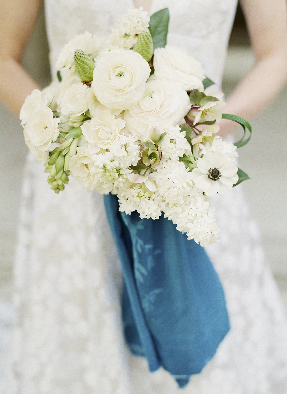 White Lilac Bouquet