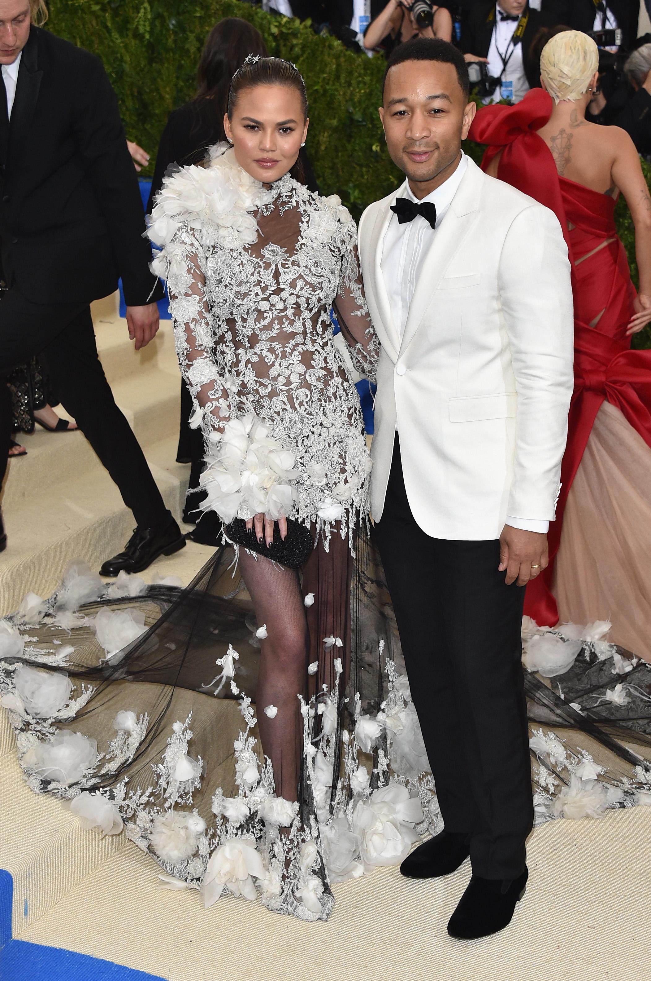 Chrissy Teigan and John Legend Met Gala 2017