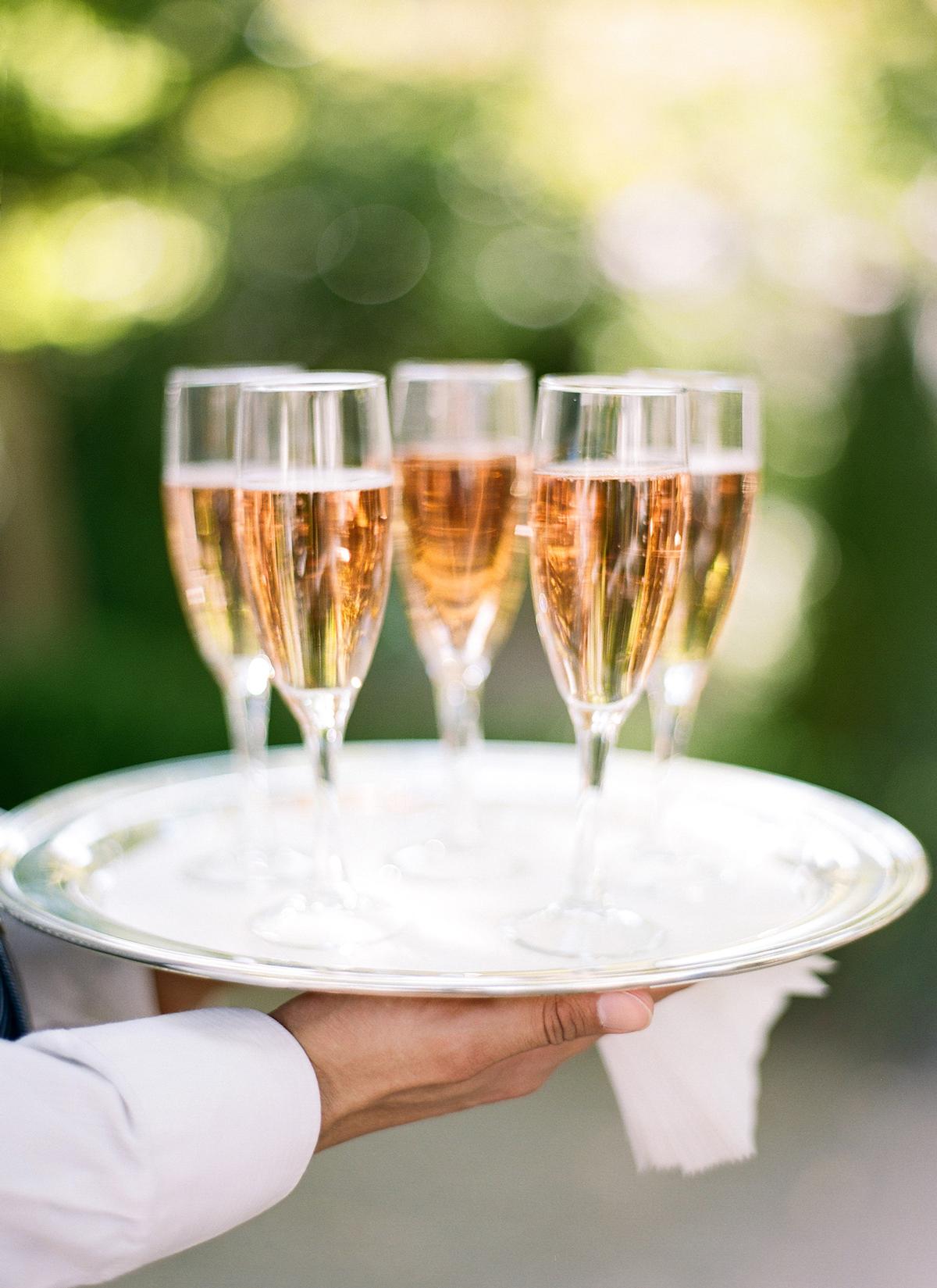 rose gold wedding ideas rose champagne