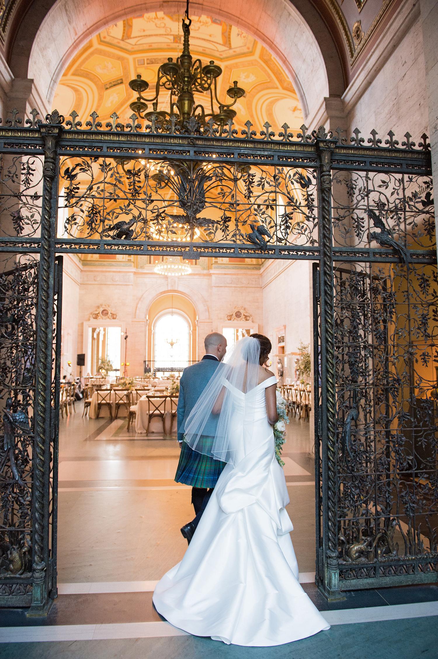meki ian wedding exit