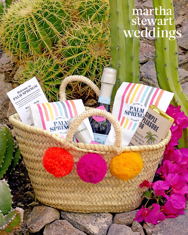 samira wiley lauren morelli wedding welcome bag