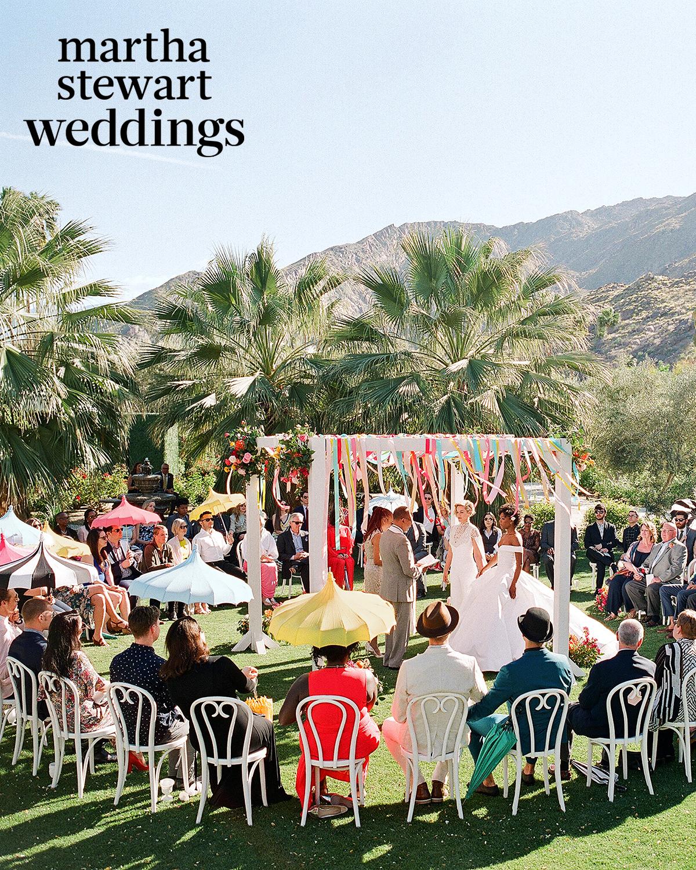 samira wiley lauren morelli wedding ceremony