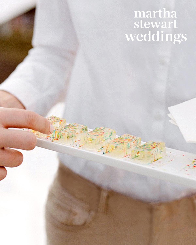 samira wiley lauren morelli wedding jello shots