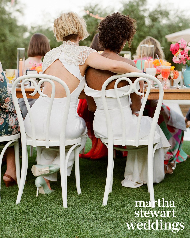samira wiley lauren morelli wedding toasts