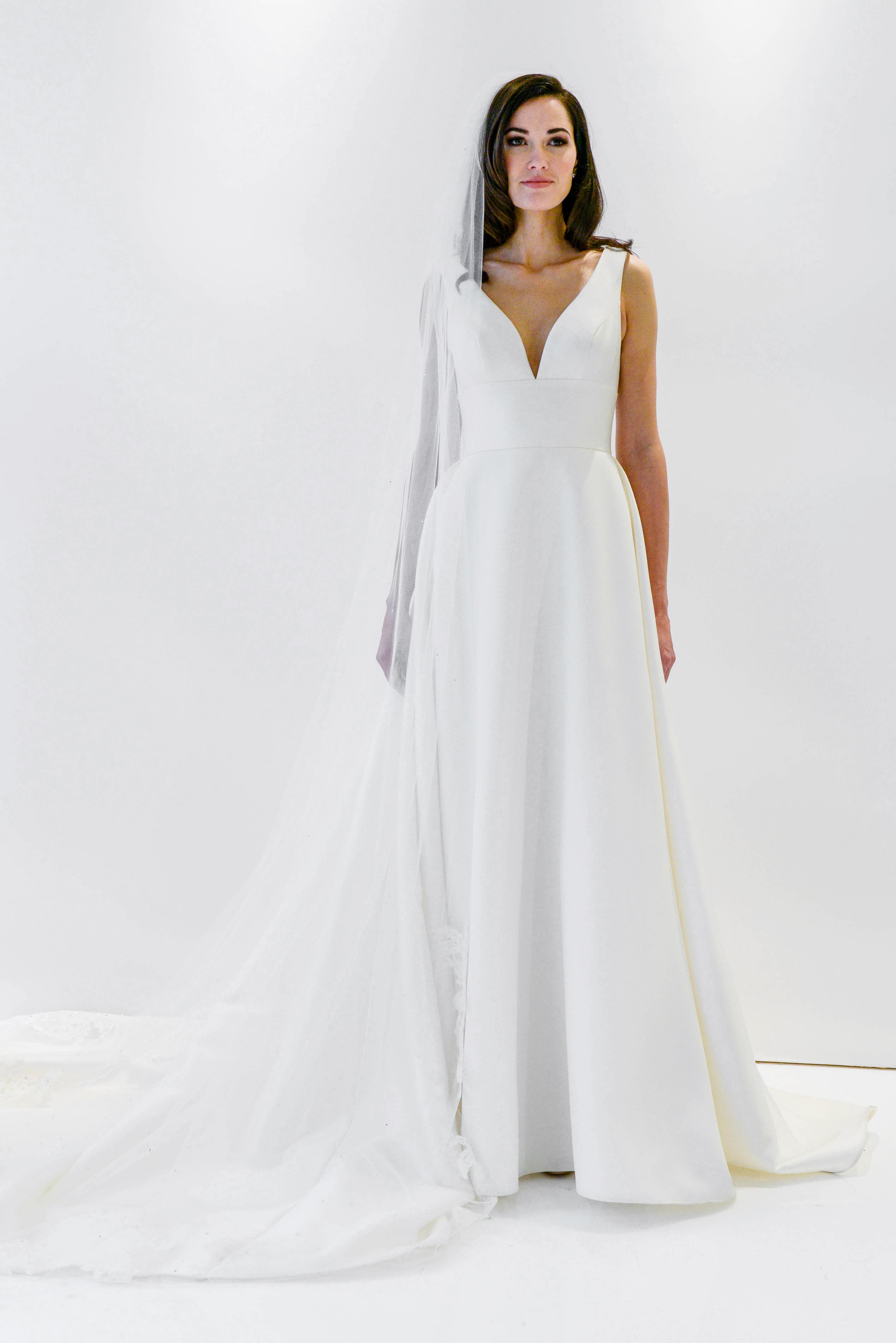 watters wtoo v-neck a-line wedding dress spring 2018