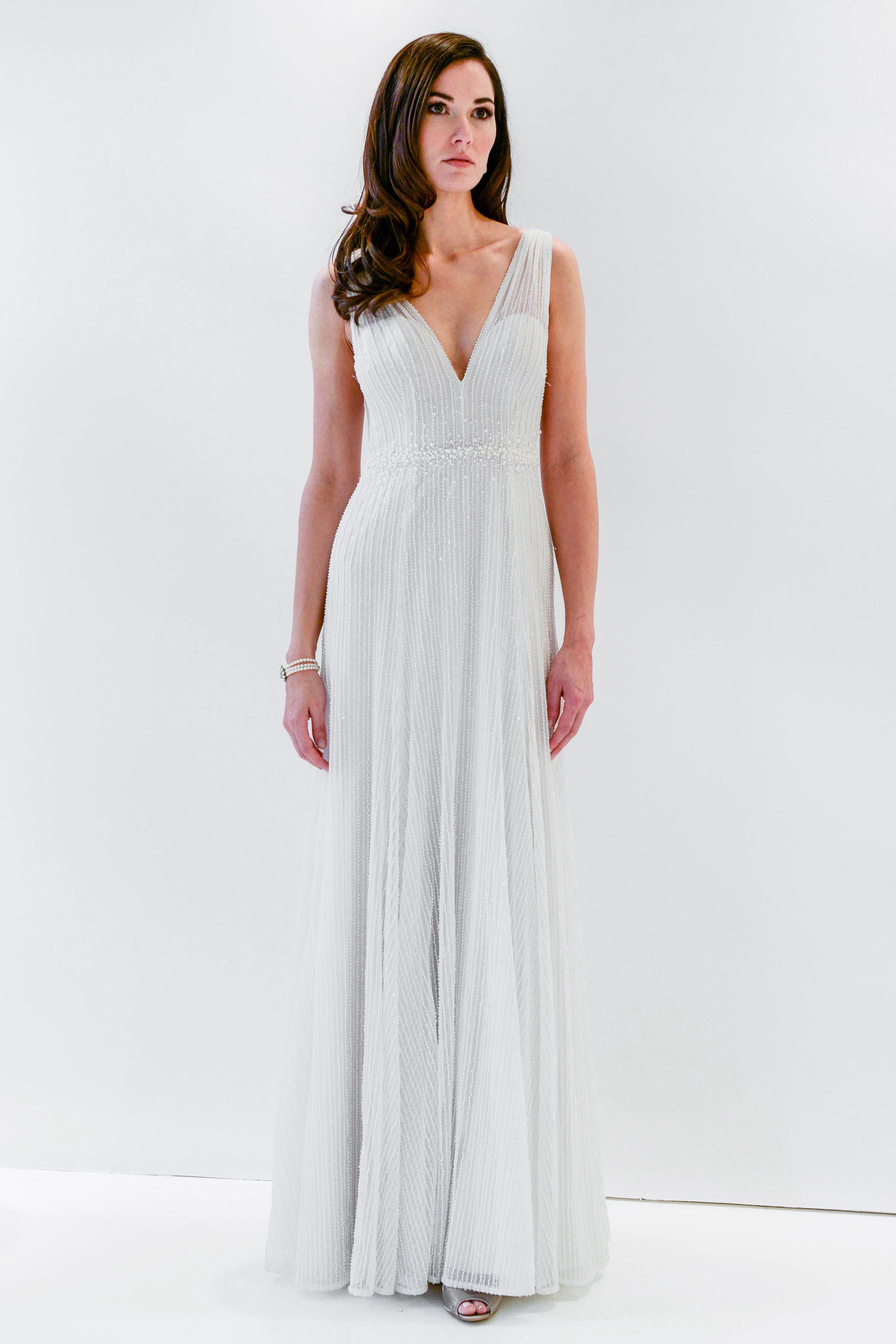 watters wtoo v-neck beaded wedding dress spring 2018