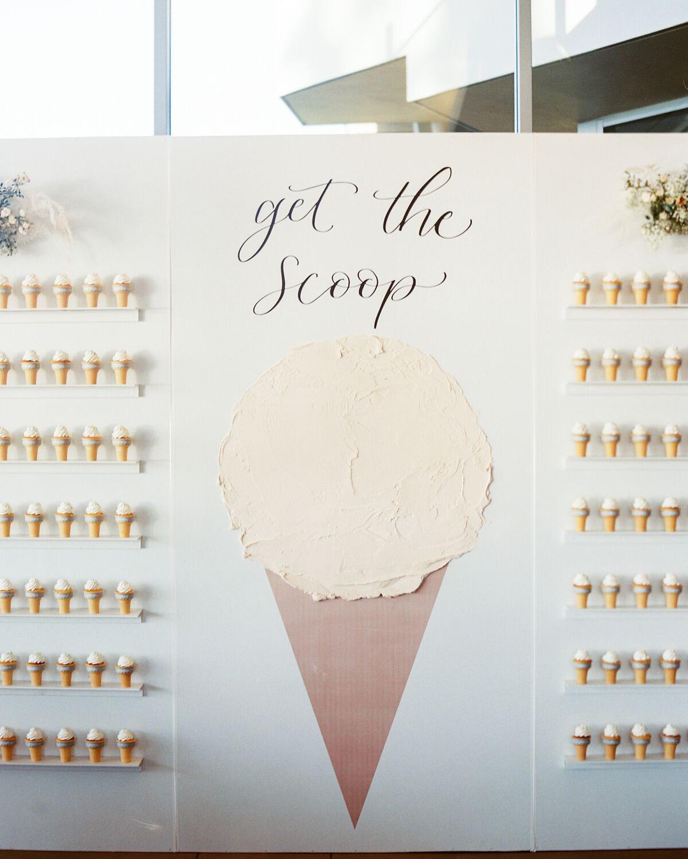 ice cream food wall