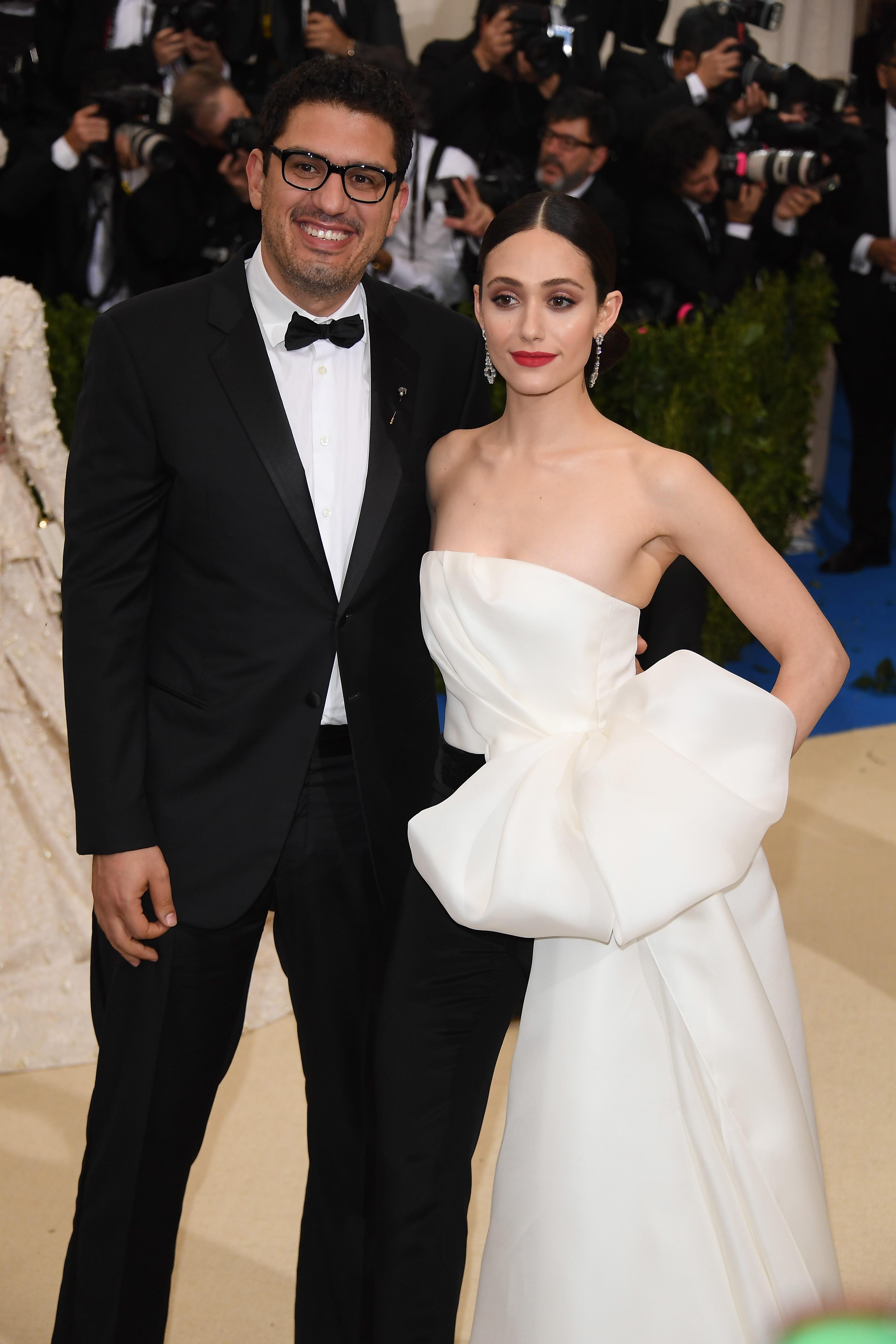 Emmy Rossum Marries Sam Esmail