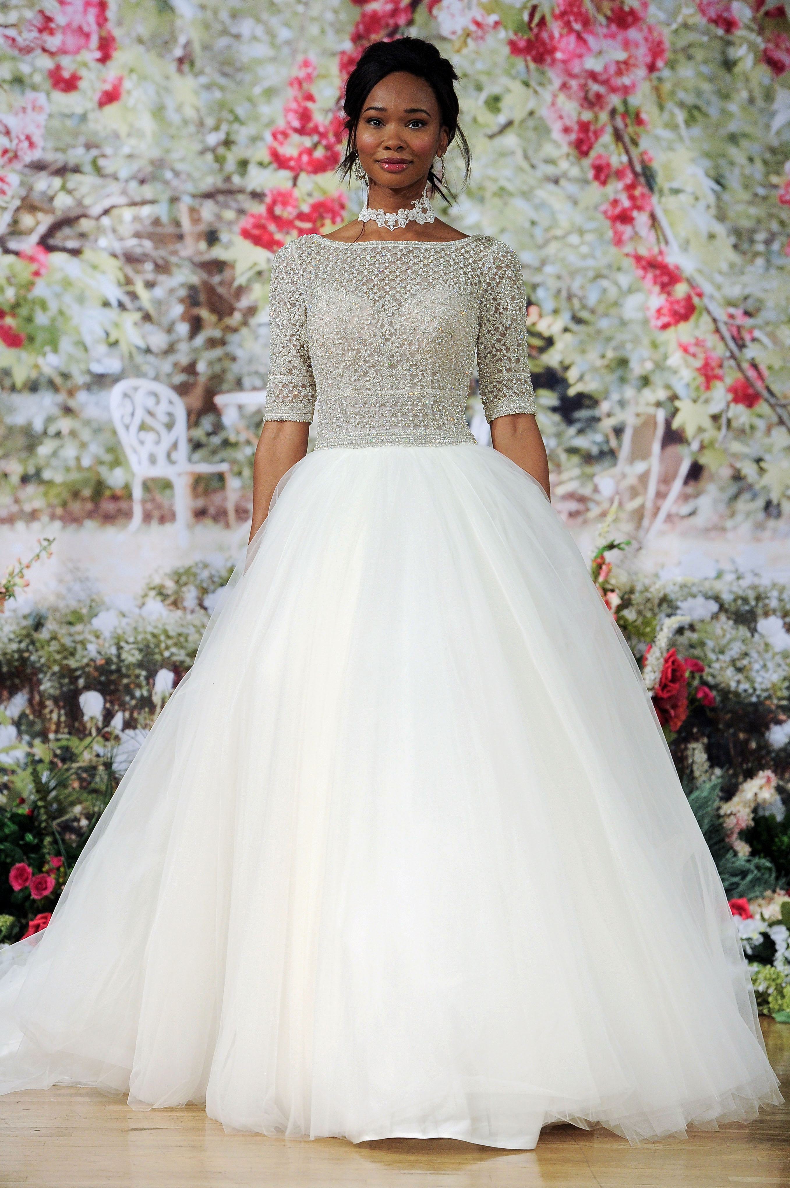 Sottero and Midgley Fall 2017 Wedding Dress with Glamorous Top