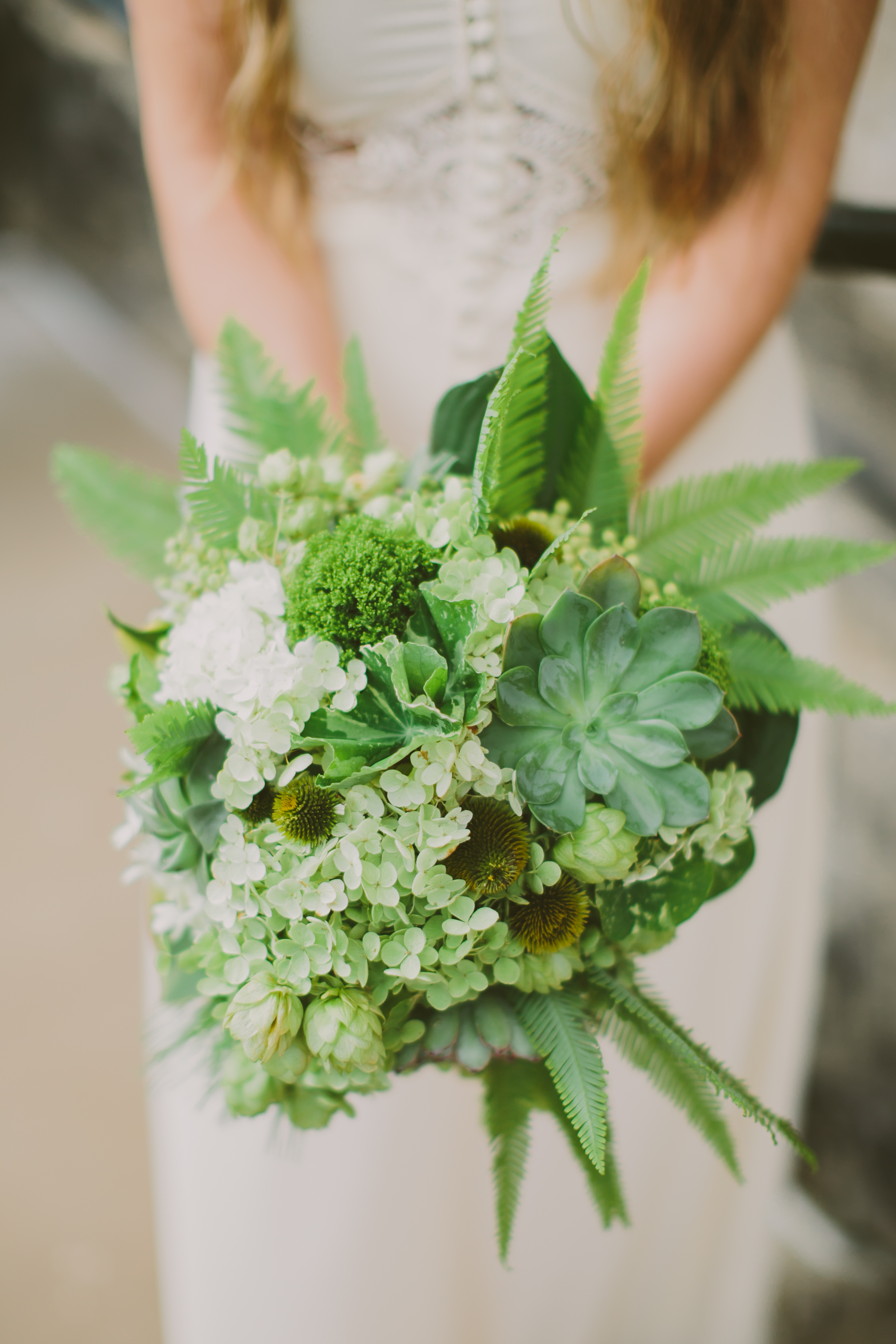 Green Fern Bouquet