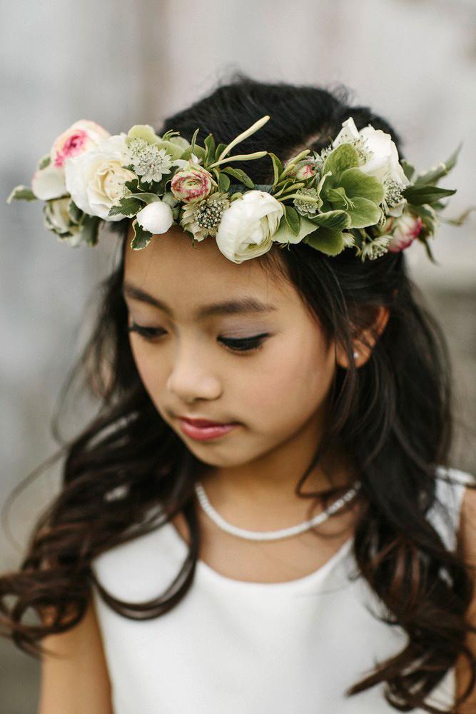 flower crown flower girl