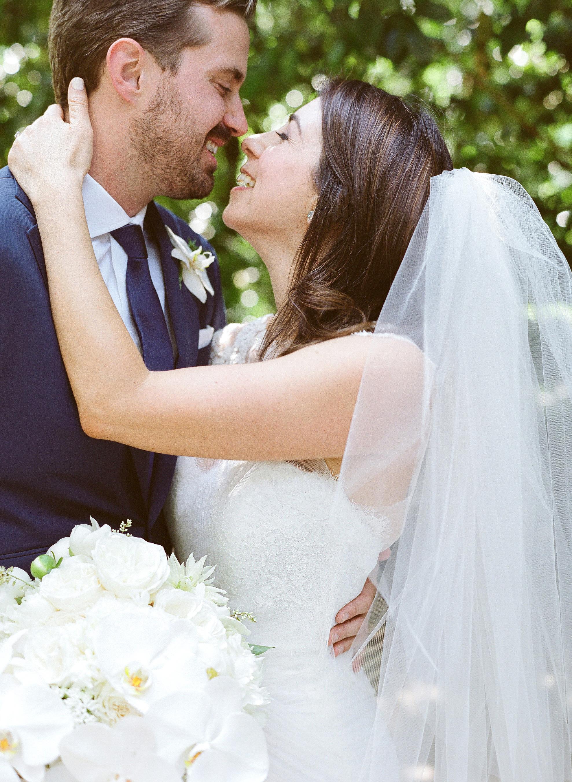 giordana and geoffrey bride and groom
