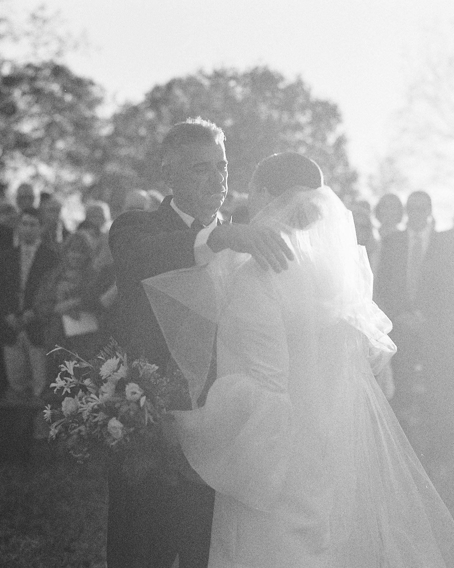 wedding dad veil ceremony