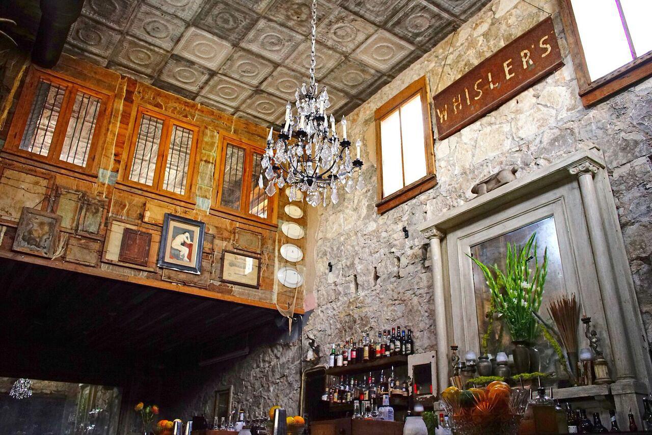 bar chandelier