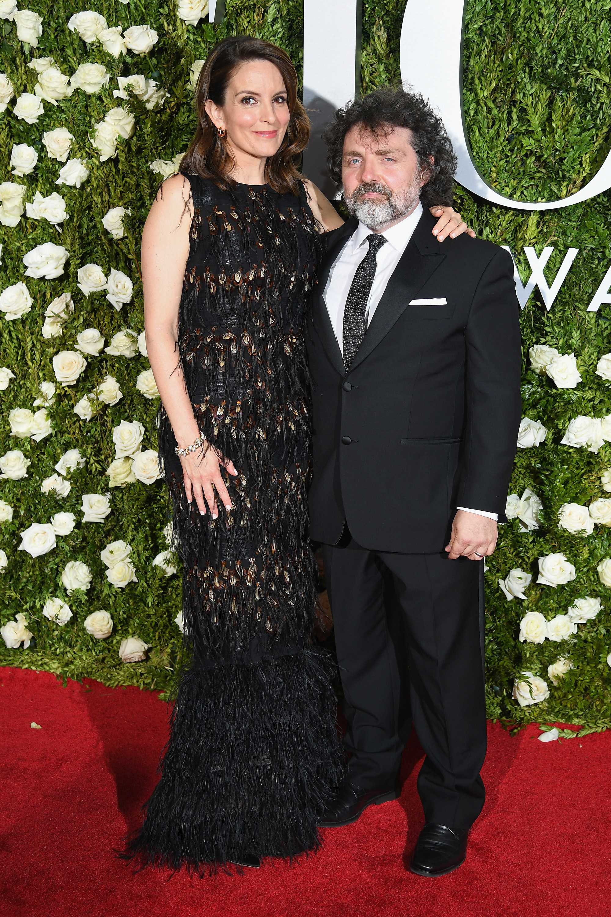Tina Fey and Jeff Richmond at 2017 Tony Awards