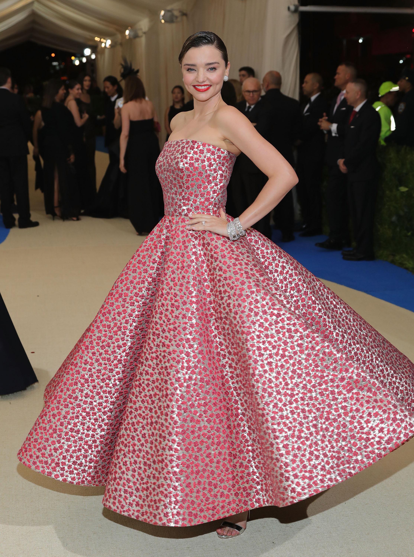 Miranda Kerr Met Gala Dress 2017