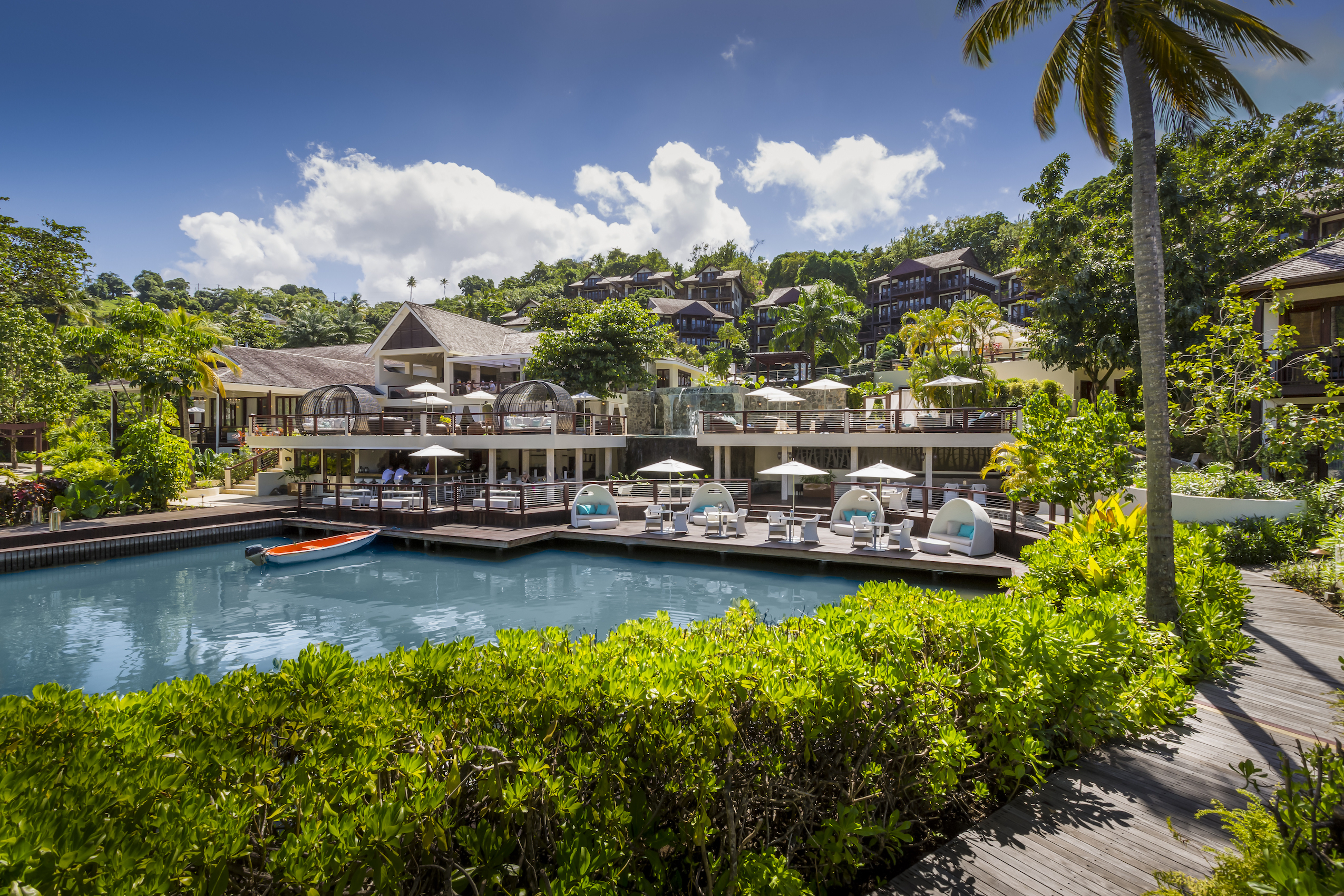 Capella Marigot Bay Resort and Marina