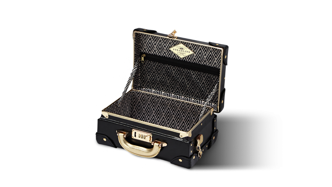 steamline luggage vanity case