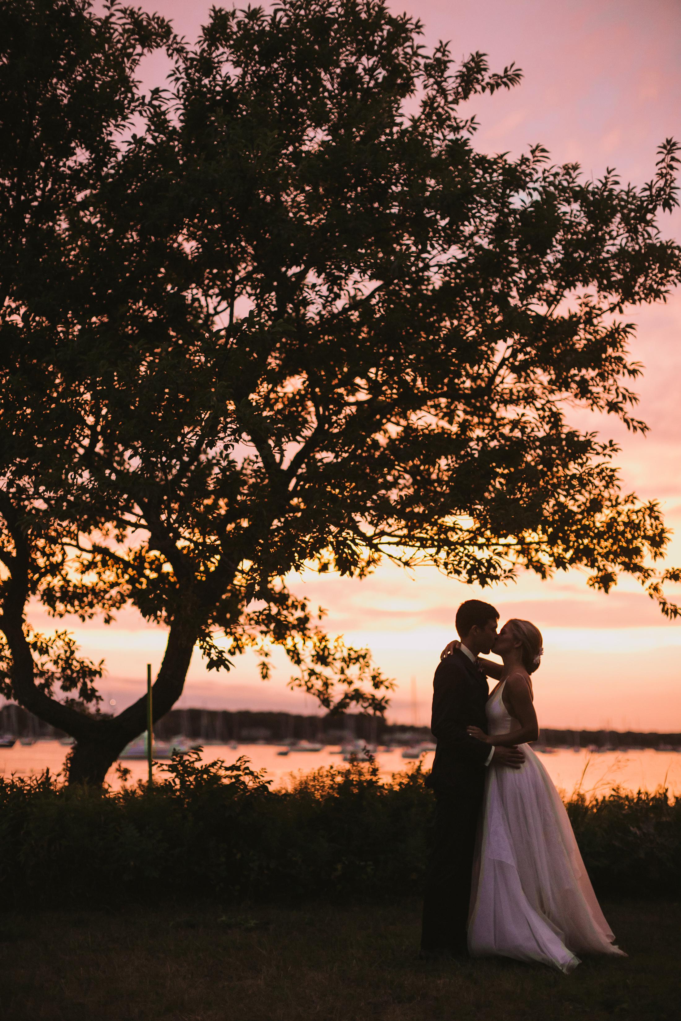 hadley corey wedding sunset