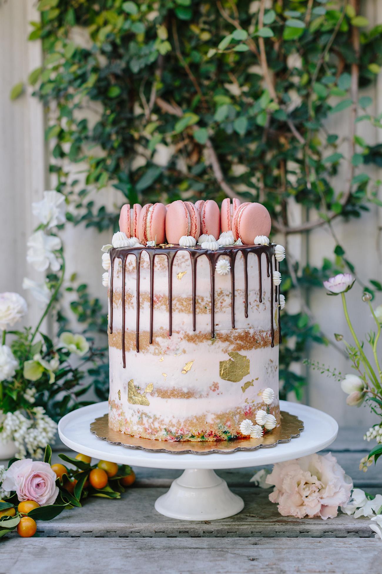 funfetti wedding cake