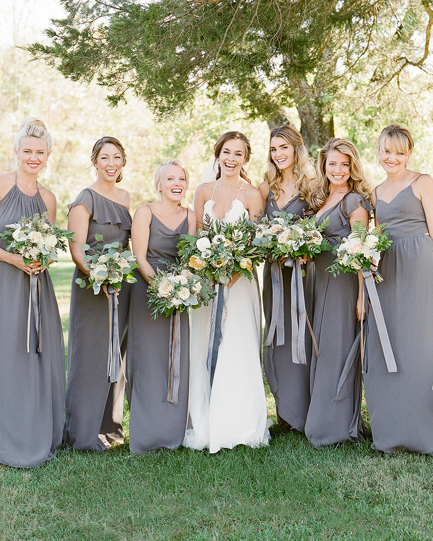 anne and staton wedding bridesmaids